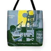 The Testing Laboratory Tote Bag