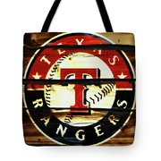 The Texas Rangers 2w Tote Bag