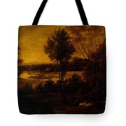 The Thames From Richmond Hill Tote Bag