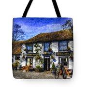 The Theydon Oak Pub Art Tote Bag