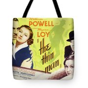 The Thin Man 1934 Tote Bag