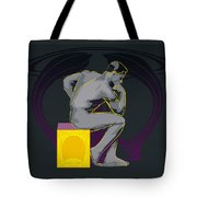 The Thinker - El Pensador Tote Bag