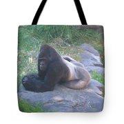 Silverback Gorilla Tote Bag