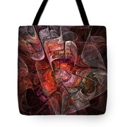 The Third Voice - Fractal Art Tote Bag