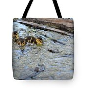 The Three Amigos Ducklings Tote Bag
