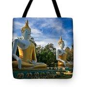 The Three Buddhas  Tote Bag