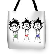 The Three Emu's Tote Bag