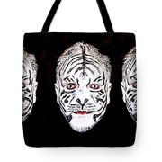 The Three Faces Tote Bag