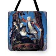 The Three Favorite Air Travelers Tote Bag