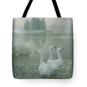 The Three Geese Tote Bag