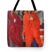 The Three Marys At The Tomb Fragment 1311 Tote Bag