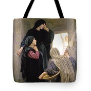 The Three Marys At The Tomb Tote Bag