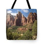 The Three Patriarchs Watch Tote Bag