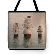 The Three Ships Tote Bag