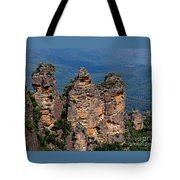 The Three Sisters Katoomba Australia Tote Bag