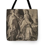 The Three Women Returning From The Tomb Tote Bag