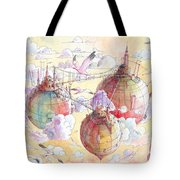The Three Worlds Tote Bag