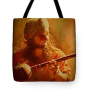 The Artist And His Muse Tote Bag
