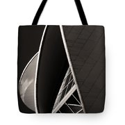 The Thrust Of Culture  Tote Bag