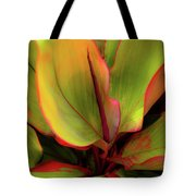 The Ti Leaf Plant In Hawaii Tote Bag