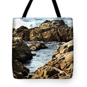 The Tide Rushes In Tote Bag