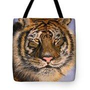 The Tiger, 16x20, Oil, '08 Tote Bag