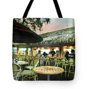 The Tiki Bar Tote Bag