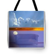 The Time Is Relative. Tote Bag