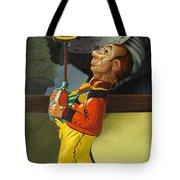 The Tin Juggler Tote Bag