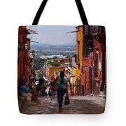 The Top Of Calle Umaran Tote Bag