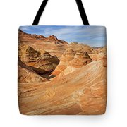 The Top Of The Wave Tote Bag
