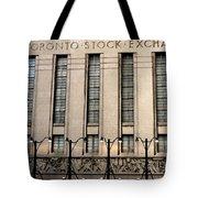 The Toronto Stock Exchange Tote Bag