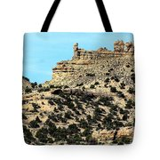The Tower And The Castle Tote Bag