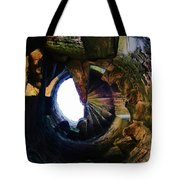 The Tower Stairs Tote Bag