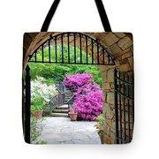 The Tower's Garden Door Tote Bag