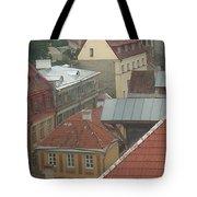 The Towers Of Old Tallinn Estonia Tote Bag
