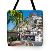 The Town Of Avalon Tote Bag