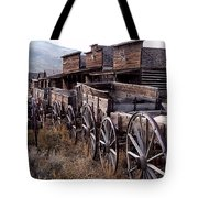 The Town Of Cody Wyoming Tote Bag