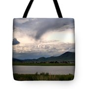The Town Of Eagle Nest Tote Bag