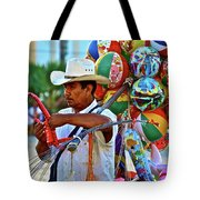 The Toy Man Tote Bag