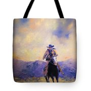 The Tracker Tote Bag