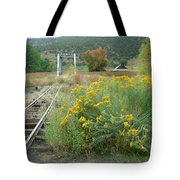 The Tracks At Pagosa Junction Tote Bag