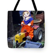 The Tractor Driver Tote Bag