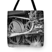 The Train Goes By Tote Bag