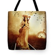 The Train Never Came Tote Bag