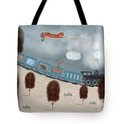 The Traveling Circus Tote Bag