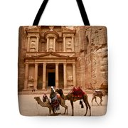 The Treasury Of Petra Tote Bag