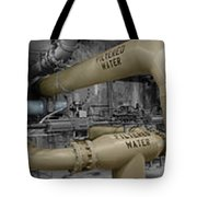The Treatment Of Water Tote Bag by Peter Piatt