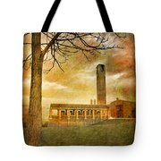 The Tree And The Bell Tower Tote Bag