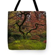 The Tree In Spring Tote Bag